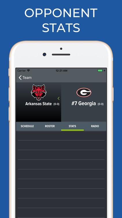 Georgia Football Schedules screenshot-7