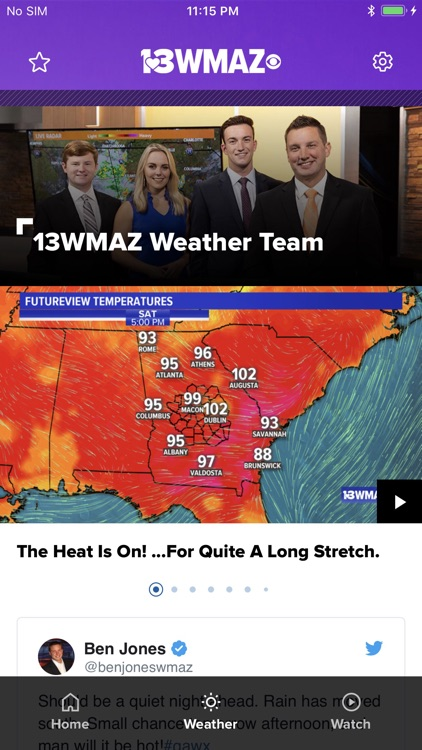 13WMAZ: Central Georgia News screenshot-1