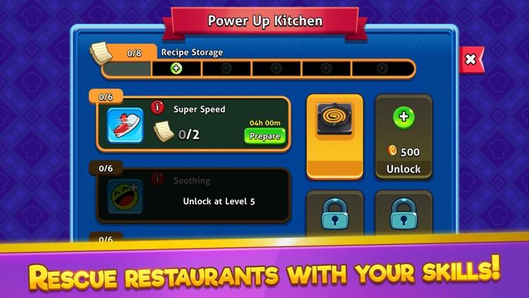 Chef Rescue - Kitchen Master screenshot-4