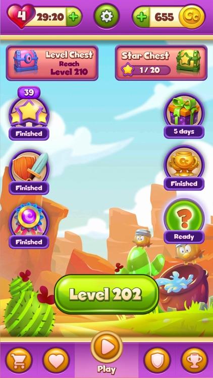 Cartoon Crush: Match 3 Games screenshot-3