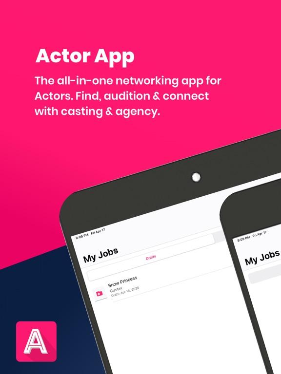 Actor App - Work Like a Pro screenshot