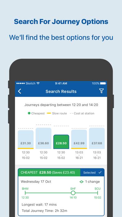 TrainSplit - Split Ticketing screenshot two
