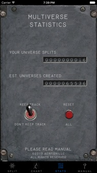 Universe Splitter iphone images