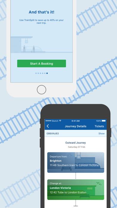 TrainSplit - Split Ticketing screenshot four