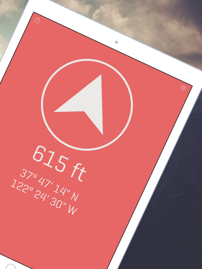 Alti - Altimeter & Compass Screenshot