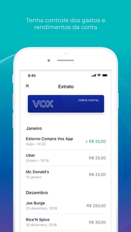 Conta Digital Vox screenshot-3