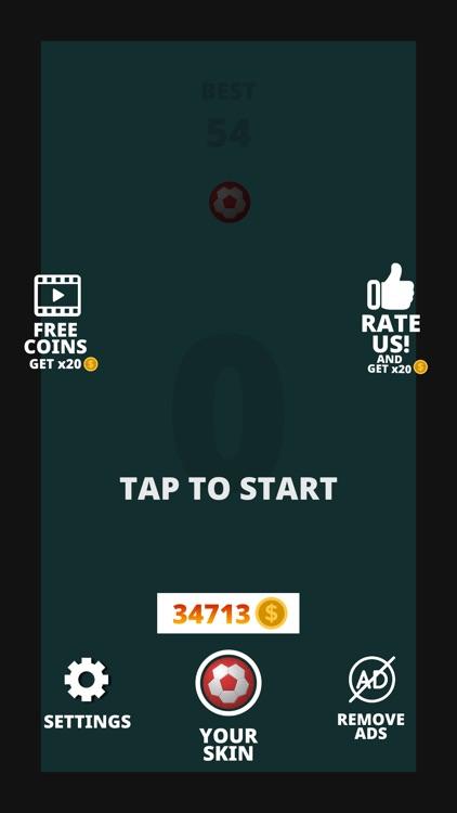 Hit Ball - Wall Jumper screenshot-3