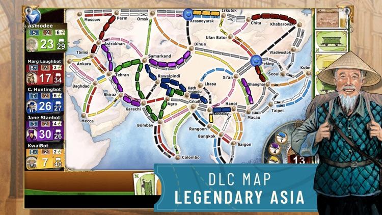 Ticket to Ride - Train Game screenshot-8