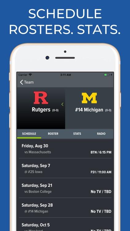 Michigan Football Schedules screenshot-9