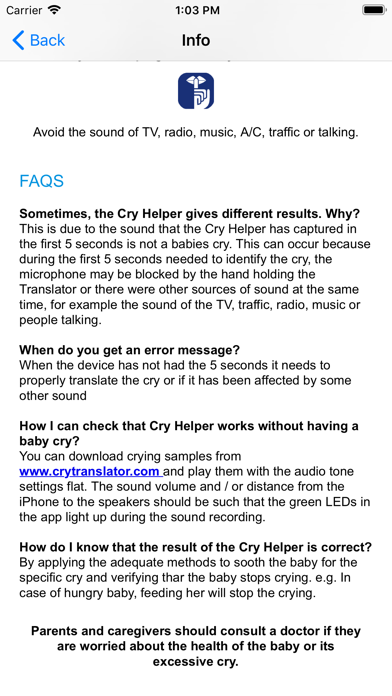 Cry Helper screenshot 9
