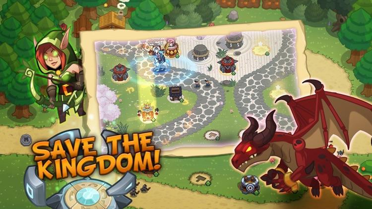 Realm Defense: Hero Legends TD screenshot-0