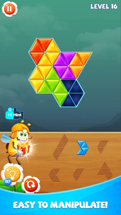 Blockdom: Hexa,Triangle,Square screenshot-1