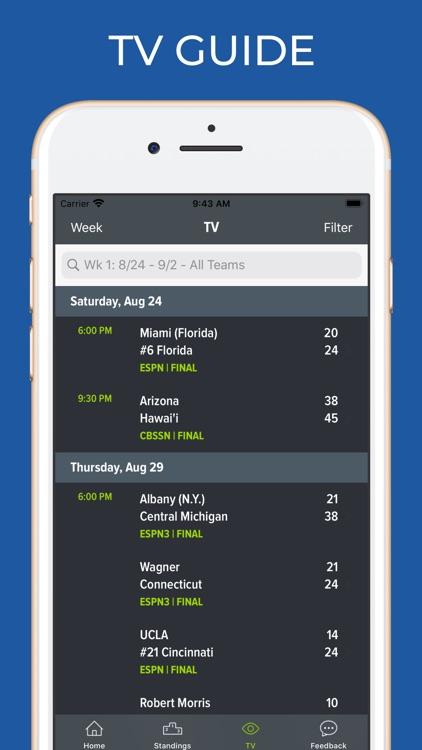 Vanderbilt Football Schedules screenshot-6