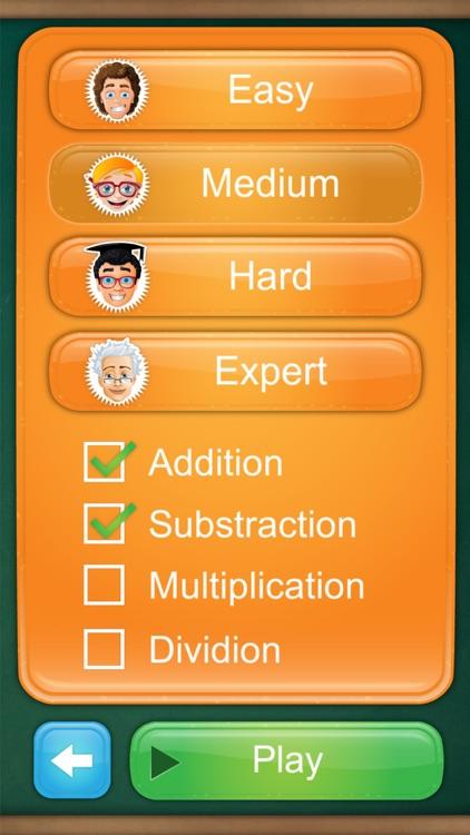 Math Fight: 2 Player Math Game screenshot-3