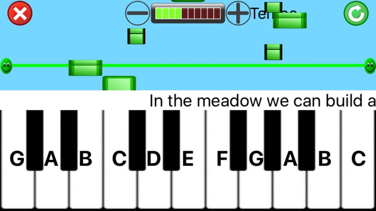 Kids playing piano silver screenshot-1