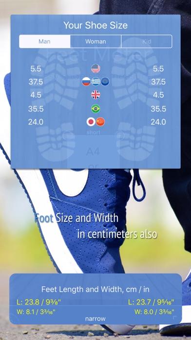 Feet Meter - 写真からの靴と足のサイズのおすすめ画像2