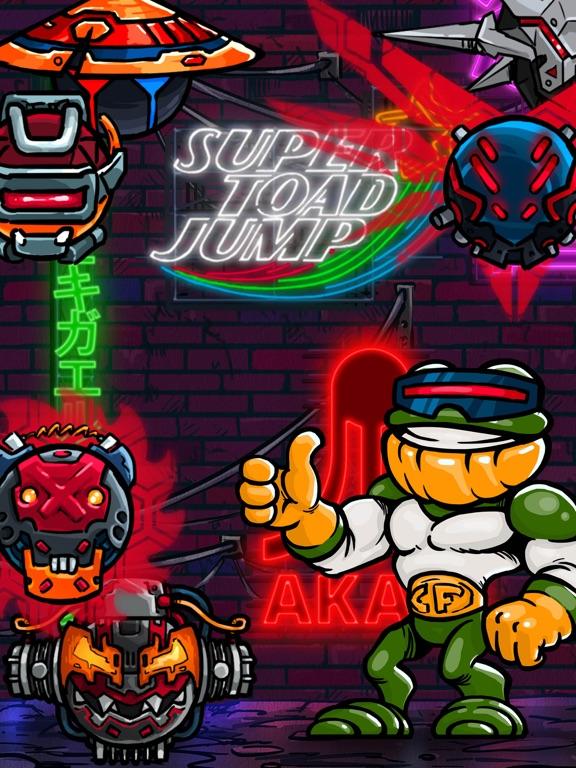Ipad Screen Shot Super Toad Jump 0