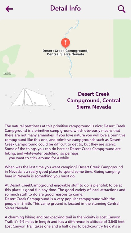 Nevada Camping Guide