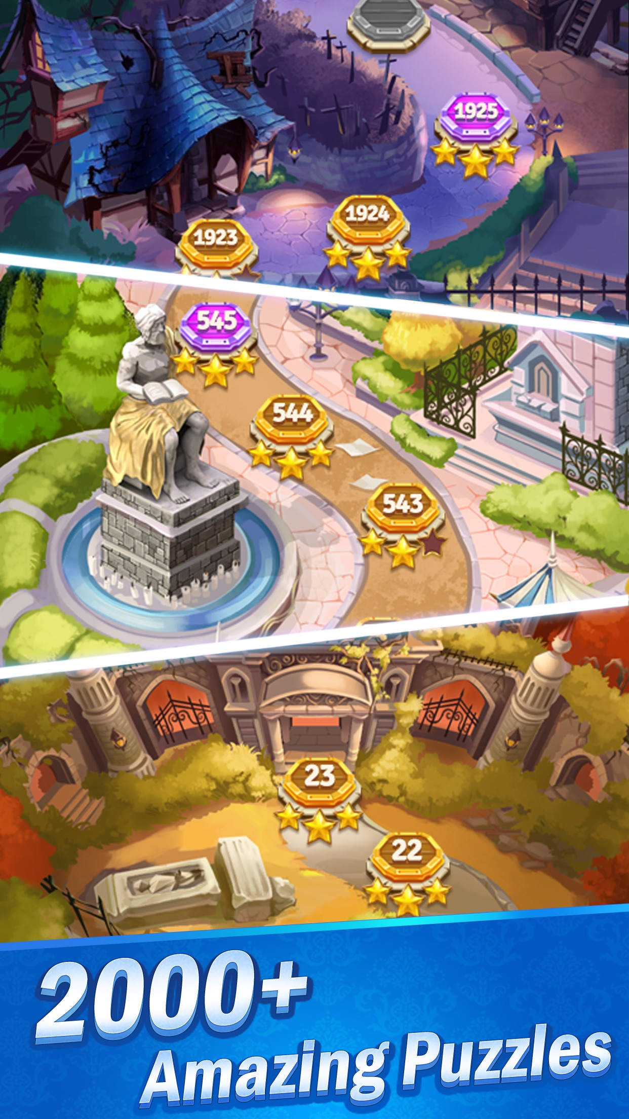 Jewel Castle® - Matching Games Screenshot