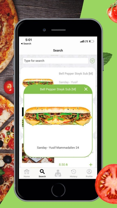 Screenshot for PingPong Delivery in Azerbaijan App Store