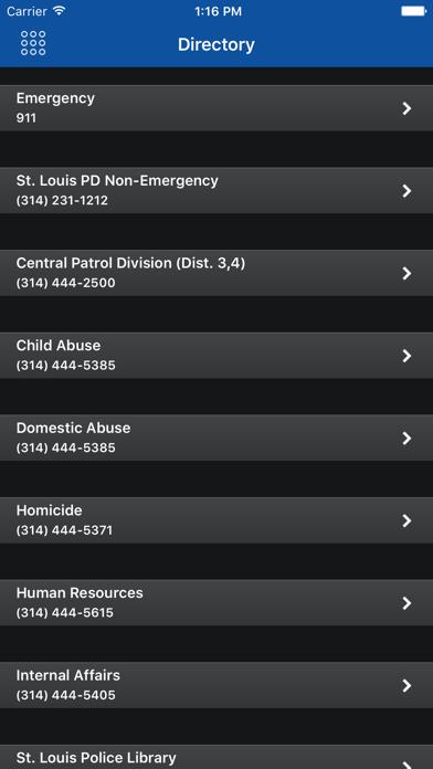 SLMPD Mobile screenshot four