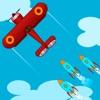 保护飞机-躲避天空导弹游戏