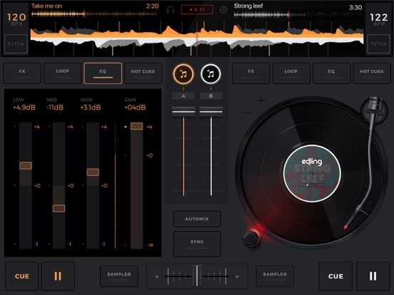edjing - DJ Music Mixer console - Play, Mix, Record and Share screenshot