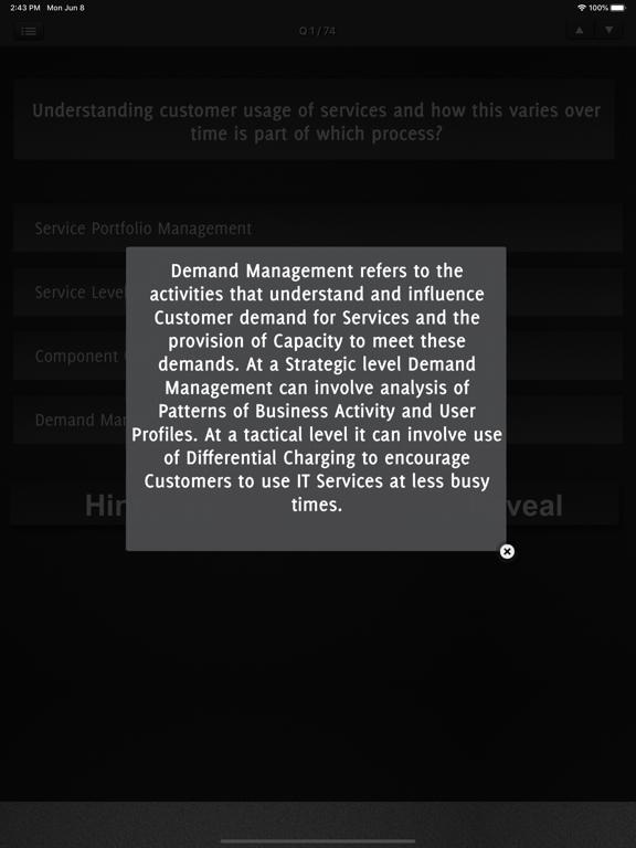 ITIL v4 Exam Foundation screenshot 8