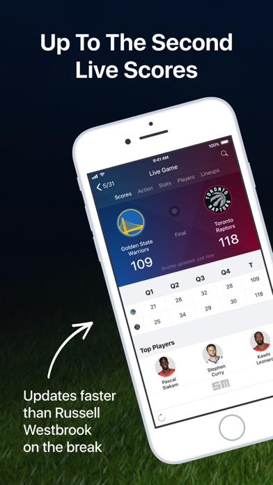 NBA Live: Scores, Stats & News screenshot one