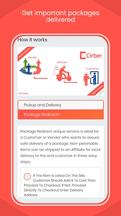 Cirber - Online Food Order screenshot-4