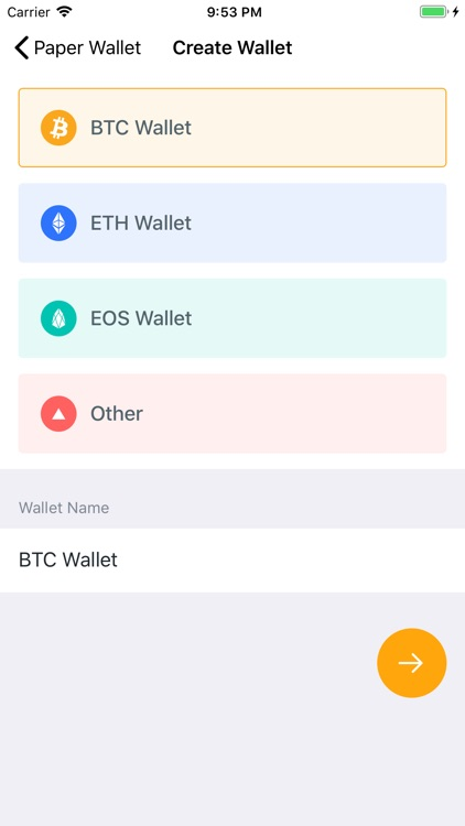 Digital Paper Wallet screenshot-3