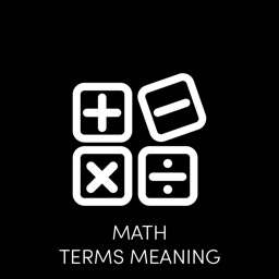 Math Terms Meaning