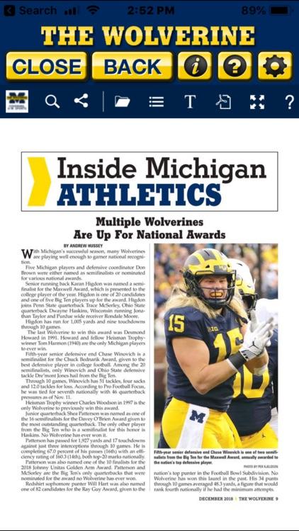 The Wolverine Magazine screenshot-3