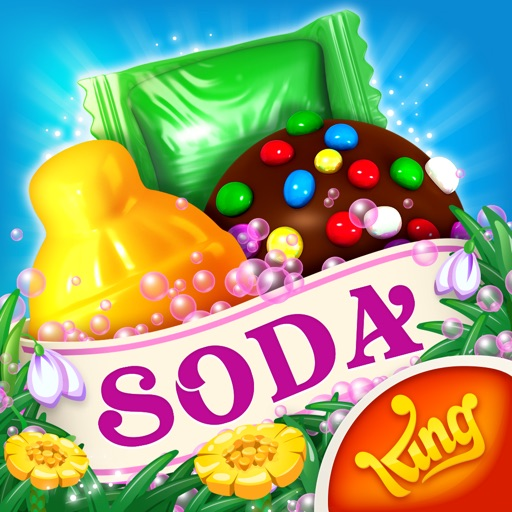 Candy Crush Soda Saga iOS App