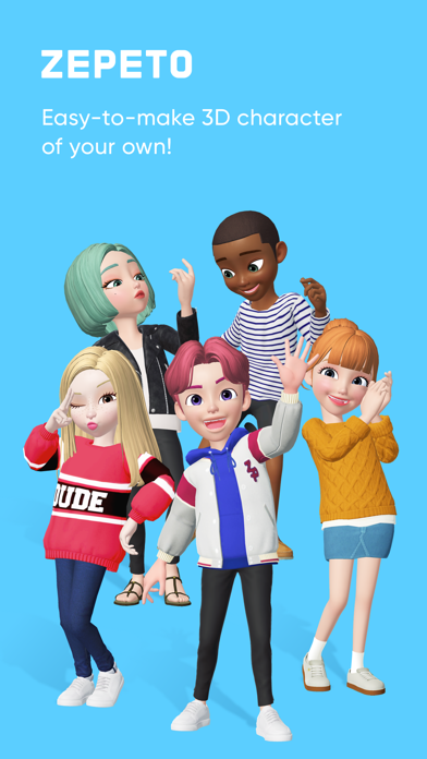 Screenshot for ZEPETO in Singapore App Store
