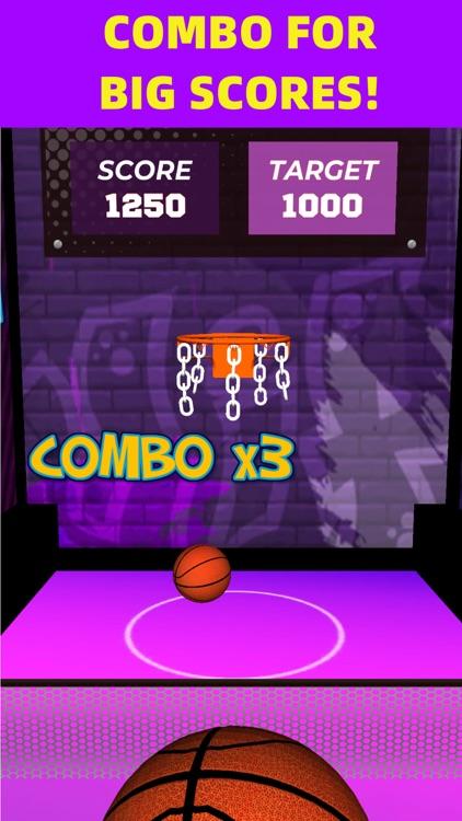 Flick Basketball Arcade Online