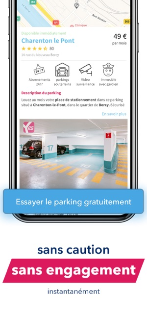 5ae94067060 App Store: Yespark : location de parkings