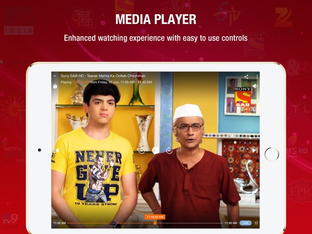 JioTV-Live TV & Catch-Up on the App Store