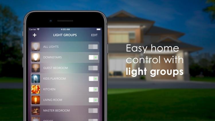 OnSwitch – Philips Hue & LIFX screenshot-5