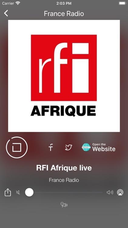 France Radio Online | FM et AM screenshot-9