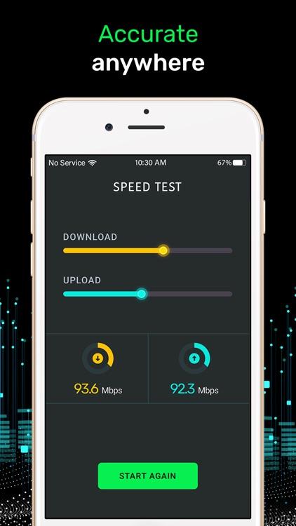 Speed Test, Network Analyzer screenshot-3