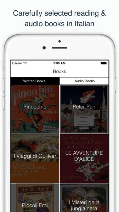 Italian Reading & Audio Books screenshot three