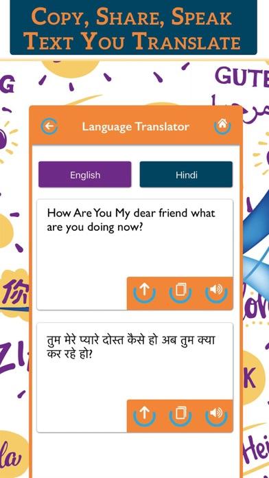 All Language Translator Lite screenshot four