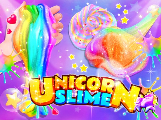 iPad Image of Unicorn Slime: Cooking Games