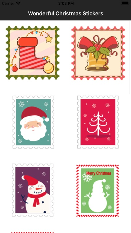 Wonderful Christmas Stickers screenshot-3