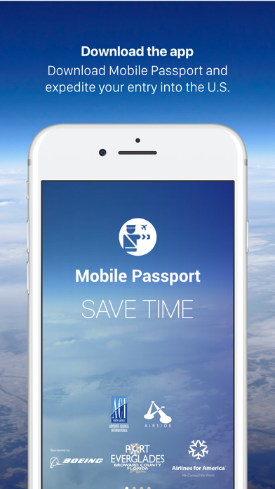 Mobile Passport Screenshot