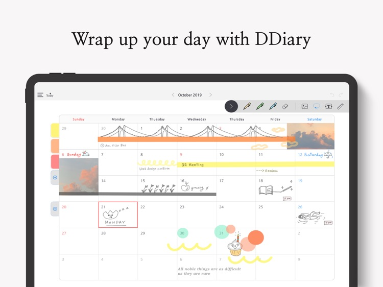 (New) DDiary - Draw your day