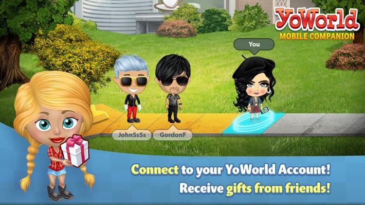 YoWorld Mobile Companion App