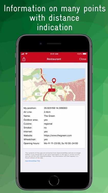 Malta & Gozo Offline Map screenshot-6
