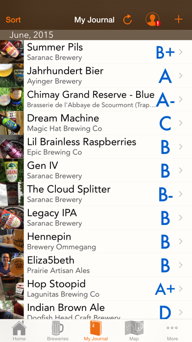 Mybeernation review screenshots